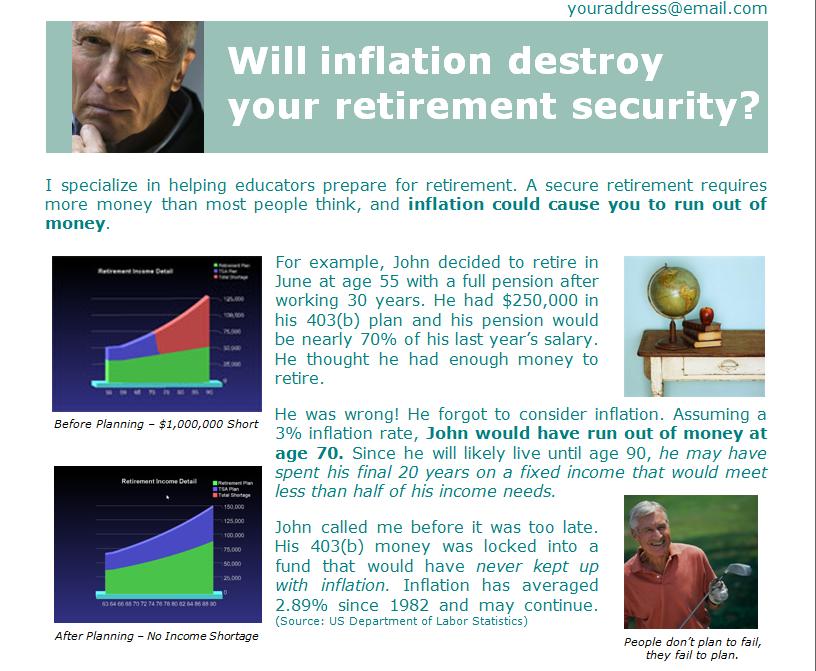 ImagiSOFT Straight-Talk Retirement System Software